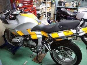 次の重整備はこちらのバイク。と、弾丸・業務連絡。