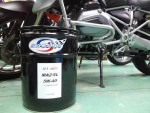 BMW motorrad 専用エンジンオイルのWEB販売開始!
