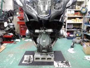 今日の新たな作業はコチラのバイク。
