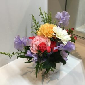 疲れてヘルペス、癒しのお花