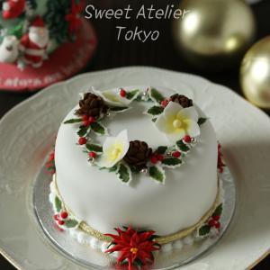 クリスマスのシュガーケーキレッスン!