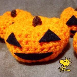 ハロウィン編み物