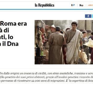 イタリア公認古代ローマ人?