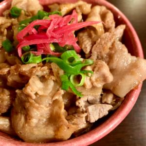 メチャ簡単豚バラ丼