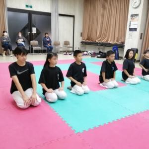 丹南空手道教室と松原市民体育館空手道教室の練習10月4週