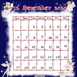 カレンダー作ってみました