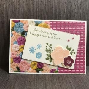 またまた刺繍模様のカード〜No.26・27