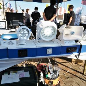 最近のボート用LED探照灯はスマート