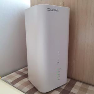 Softbank Airは家の中のどこまで電波が届くのか?