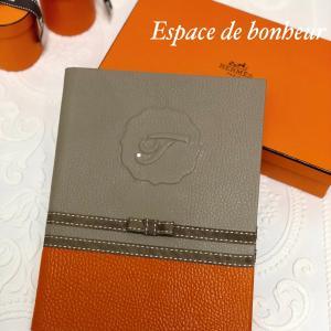 Espace de bonheur〜レザースケジュール帳カバー♪