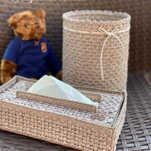 CHIC FLIC〜Hand Towel & Dust Boxのご案内♪