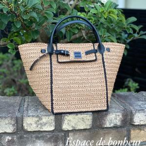 CHIC FLIC〜marie tote bag 夏用の糸を使って♪