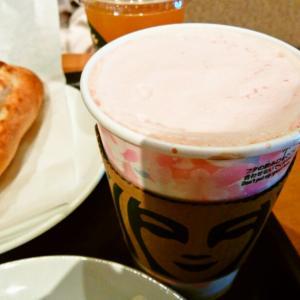 ストロベリーピンクムースホワイトモカ&カスタードプディングケーキ