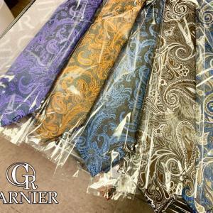 秋の新作ネクタイのサンプルが!