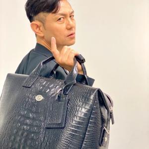 的場浩司さん!バッグも有難う御座います!