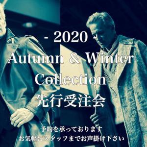 2020 Autumn & Winter collection 受注会
