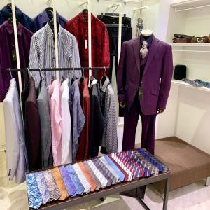 札幌PARCO店はドレスアイテムのサンプルを展示