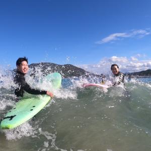 サーフィンに行こう〜〜  20201129