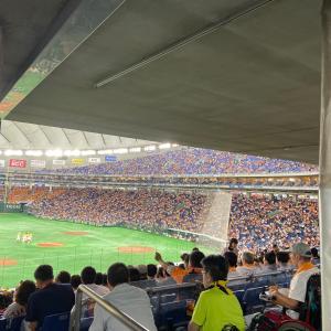 CS観戦! 巨人vs阪神