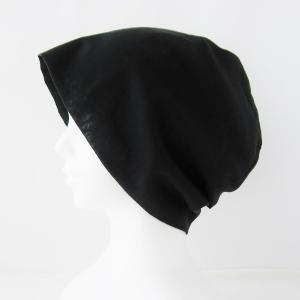 涼しい黒いガーゼ帽子 在庫補充