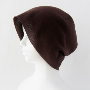 茶色の定番 シンプルなガーゼ帽子 在庫補充