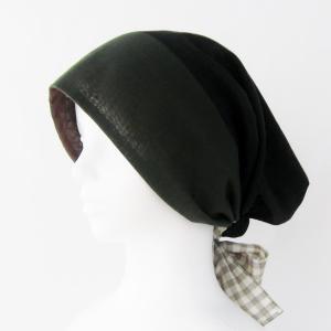 新作! ふんわり スカーフを被ったみたいな帽子 アレンジいろいろ