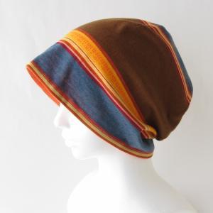 明るい色合い 元気色のリバーシブルの帽子 在庫補充