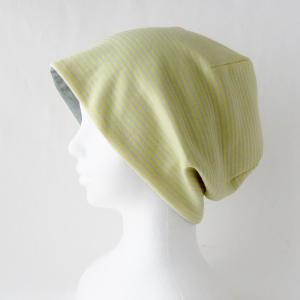 新作! 秋からも使える 優しい雰囲気のリバーシブル帽子