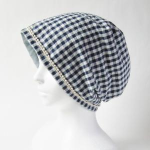 新作! ポンポンレース付きでかわいい 涼しいガーゼ帽子