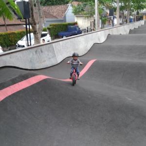 スケート&バイクパーク デビュー