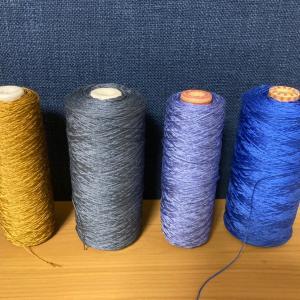 残り糸は、この4色
