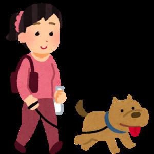早朝の犬の散歩がうるさい