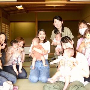 【御礼】毎月ご一緒できると、赤ちゃんママとの共感も共有も深まり嬉しい♡:山形ベビーマッサージ教室