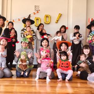 0歳から親子で楽しめるハロウィンイベントを開催しました♪【山形ベビーマッサージ教室】