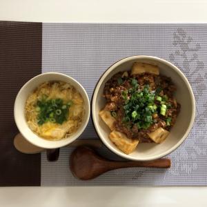 作り方を間違えましたが美味しい麻婆豆腐丼になりましたよ~