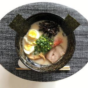 色んなスープの素から久留米とんこつラーメンを作って食べましたよ~