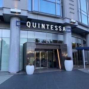 さすが高級ホテルは豪華ですね~ クインテッサホテル大阪ベイ!!