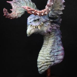 サンプル塗れました!たかちん新作 「Bighorn Dragon」