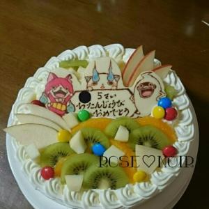 妖怪ウォッチケーキとスティックケーキ★