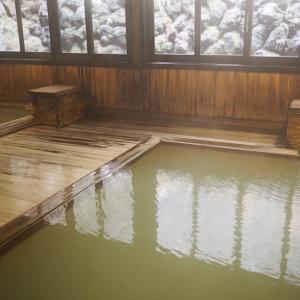 草津温泉 *益成屋* 和風村「弁天の湯」