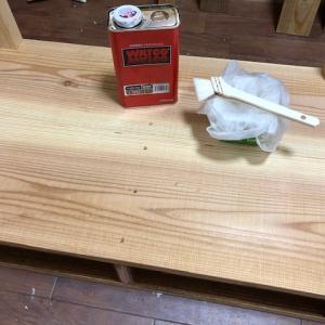 ■リビングテーブルDIY(その4)♪■