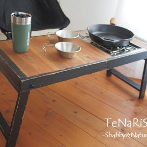 ■キャンプ折り畳みテーブル完成品~♪■