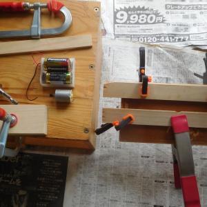 タナゴ竹竿用旋盤作り