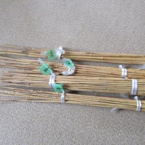 今年のタナゴ竿作り始め