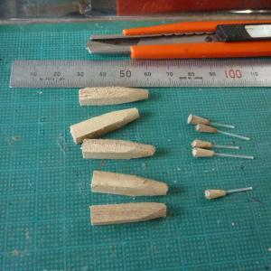 タナゴ浮き作りの小道具