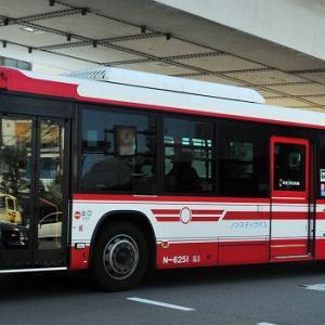 京阪バス~エルガ・ノンステップバス  N-6251