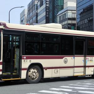 京都バス~エルガ・ワンステップバス  12