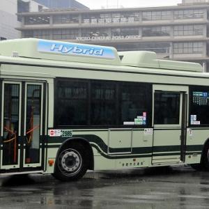 京都市バス~ブルーリボンシティHybrid  2985