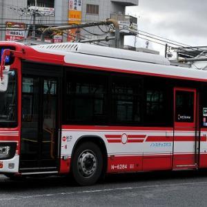 京阪バス~エルガ・ノンステップバス  N-6284