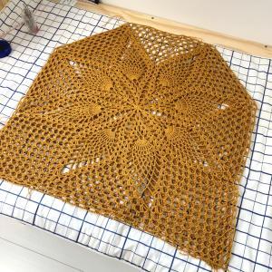 編み物仕上げ前の大事な工程